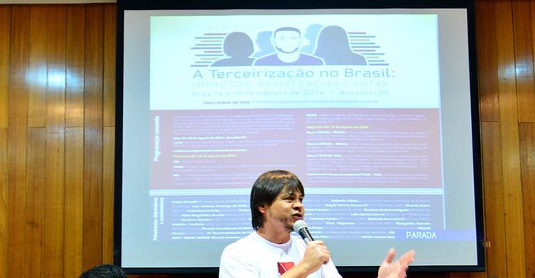 Seminário Terceirização no Brasil: Resoluções aprovadas pela plenária