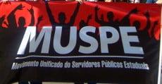 Servidores estaduais do Rio de Janeiro se unem em manifestação