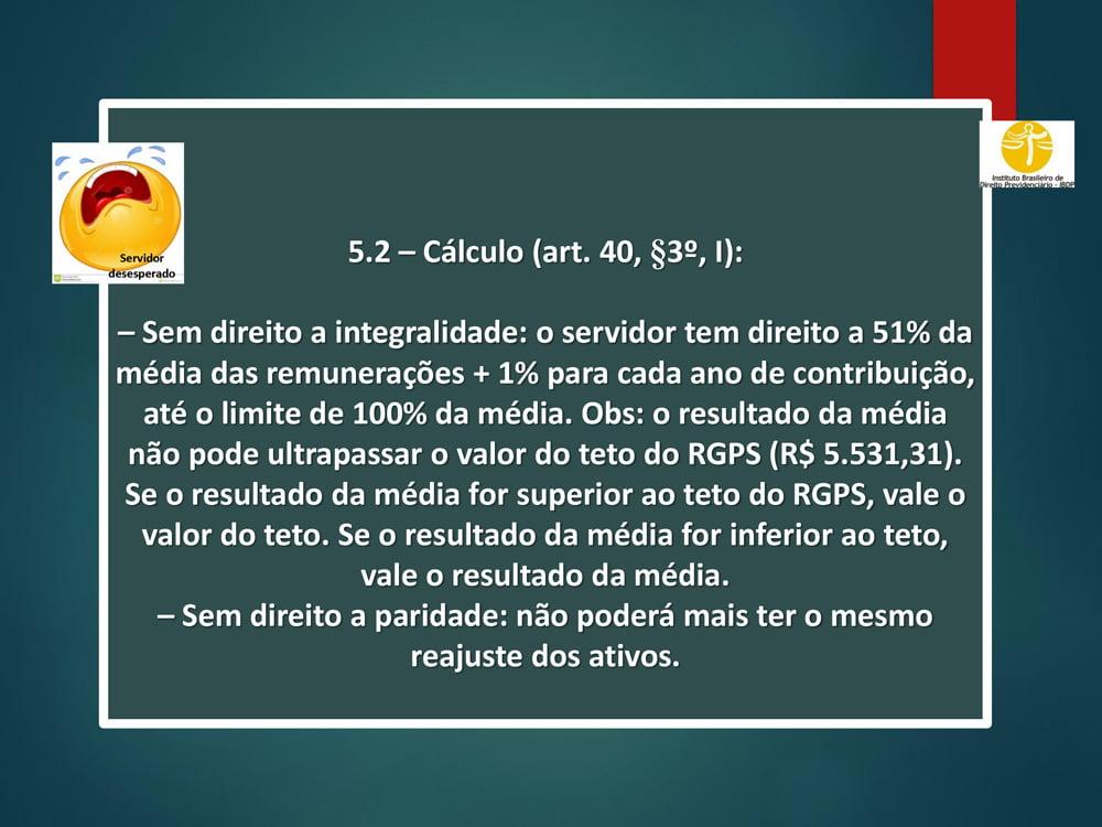 reforma da previdência - PC 287