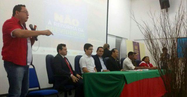 Intersindical participa de audiência pública em Macapá (AP) para discutir Reforma da Previdência com Denise Gentil e representantes sindicais