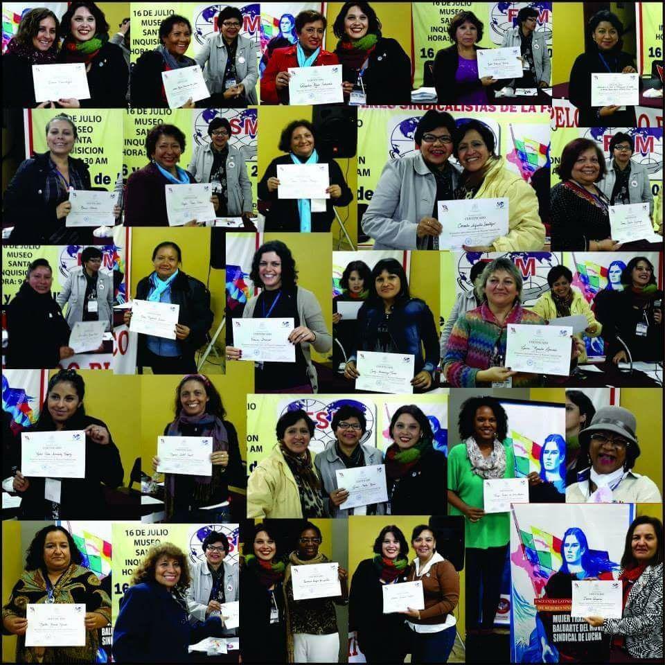 FSM - Federação Sindical Mundial - 8 de março - Dia da Mulher