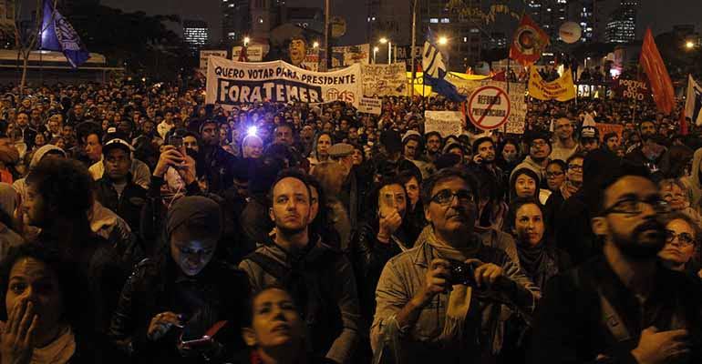 Greve geral de 28 de abril mexe com o bolso dos patrões e entra para a história do Brasil