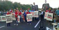 Movimentos bloqueiam entrada da Base de Lançamento de Alcântara no Maranhão