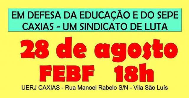 Em defesa de Rose Cipriano e do SEPE Caxias | INTERSINDICAL
