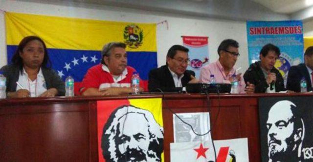 FSM: Encontro Latinoamericano e Caribenho de Solidariedade à Venezuela - INTERSINDICAL