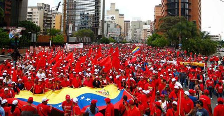 Não há nuances na Venezuela