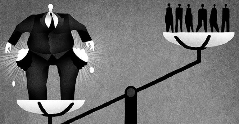 No mundo, desregulação do mercado de trabalho produziu mais desigualdade