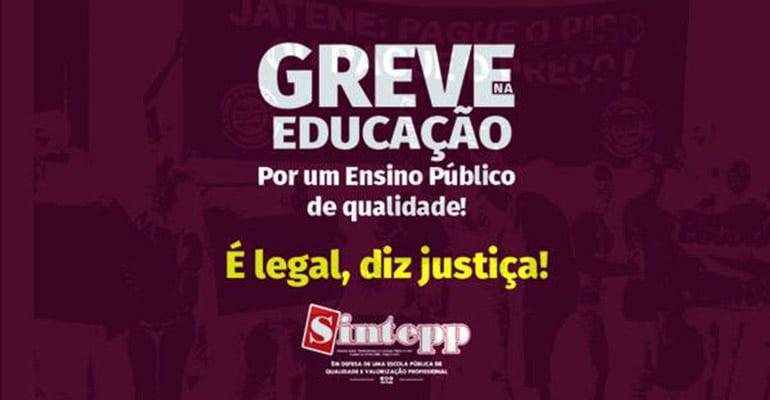 Pará educadores vão à greve em defesa dos direitos
