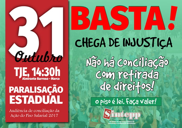 31 de outubro Pará trabalhadores da educação paralisam atividades 1