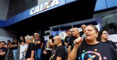 Ação em defesa da caixa 100% pública denuncia tentativa de privatização
