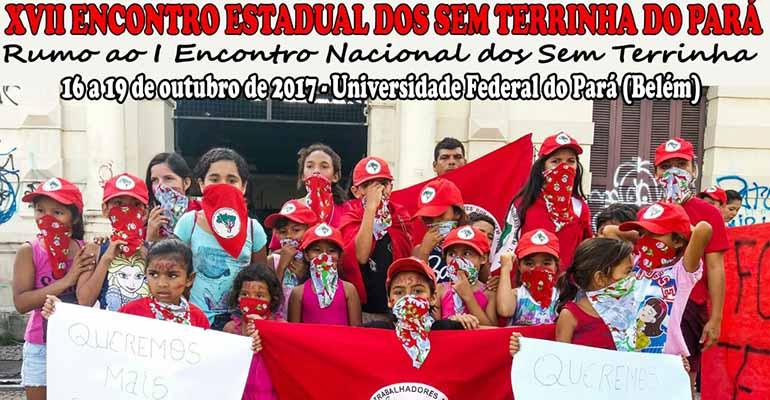 Educadores do Pará participam de encontro estadual dos Sem Terrinhas