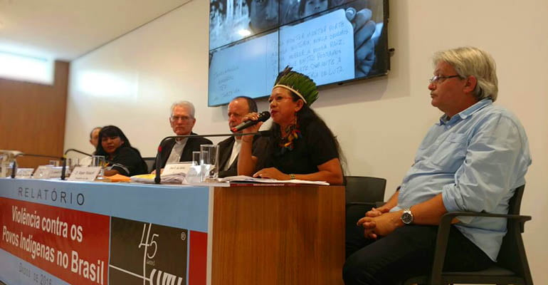 Relatório Violência Contra os Povos Indígenas no Brasil 2016