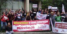 Trabalhadores da UFRGS cruzam os braços em defesa da Universidade pública