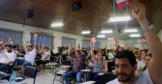 Congresso do SindSaúde-SC: Trabalhadoras(es) da saúde debatem defesa do SUS