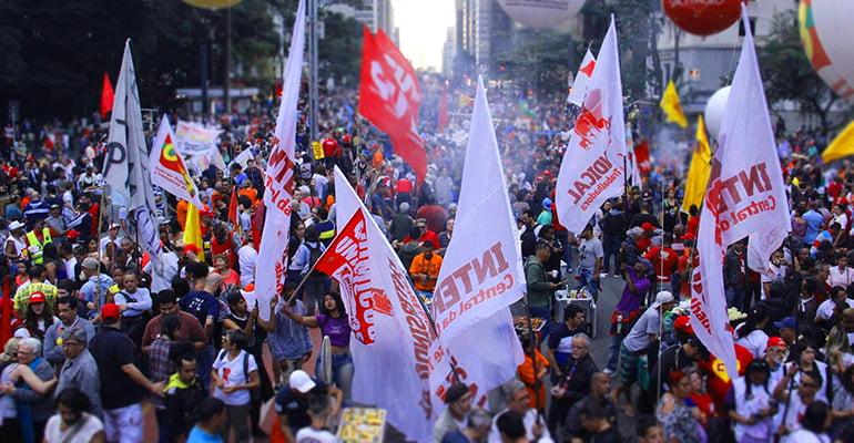 GREVE NACIONAL 5/12: Contra reforma da Previdência Social!