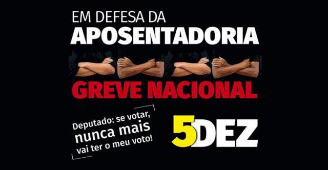 Jornal da GREVE NACIONAL DE 5/12 | INTERSINDICAL