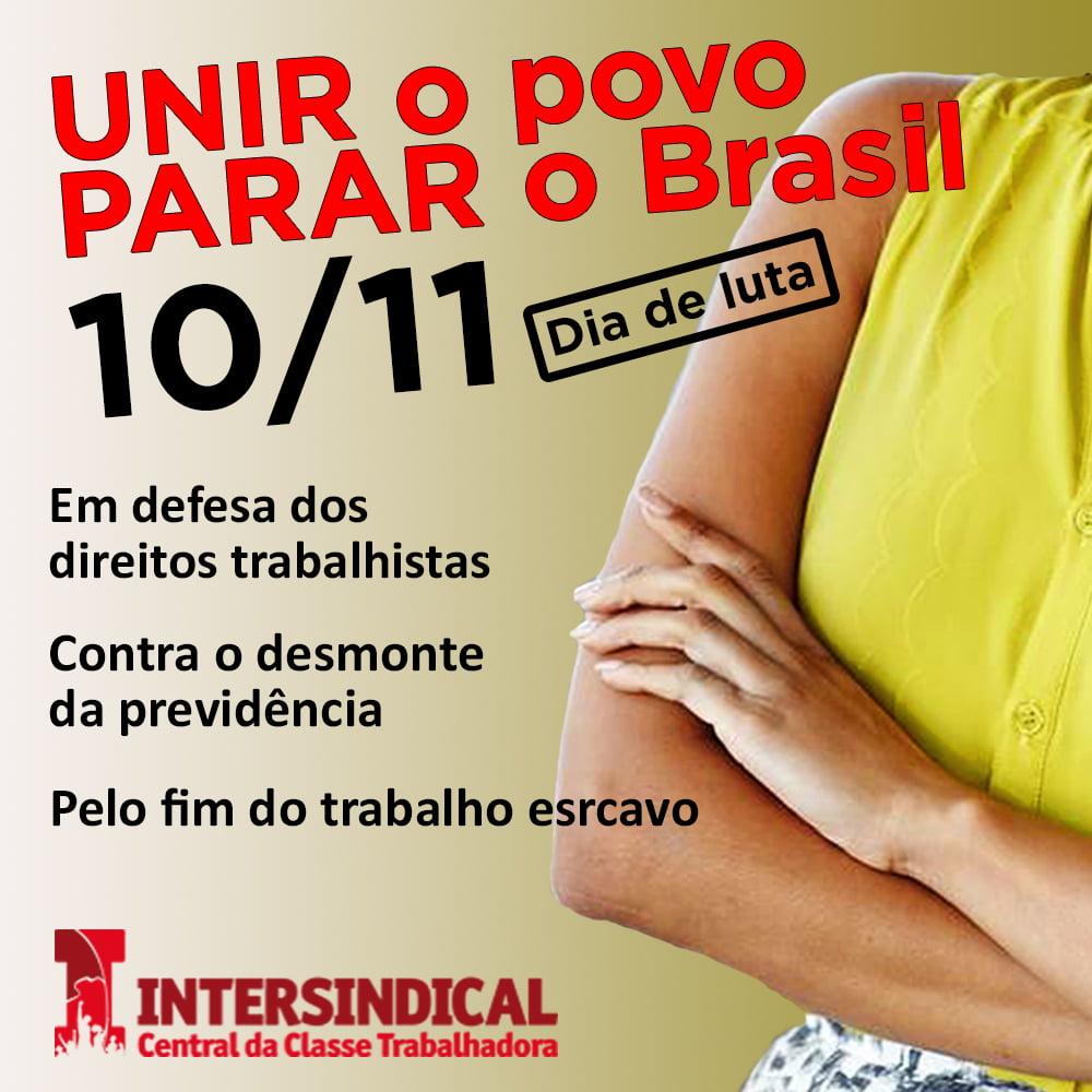 Unir o povo Parar o Brasil 4