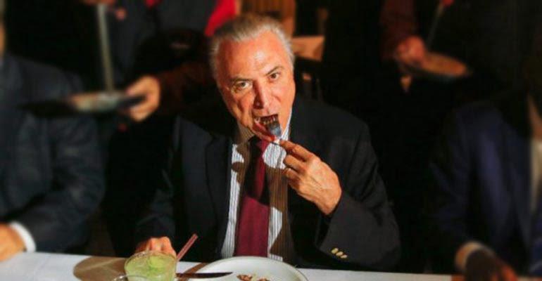 Leonardo Sakamoto | Você é o menu do jantar de Temer a deputados pela Reforma da Previdência