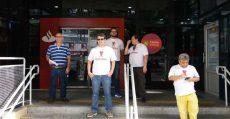 Bancários paralisam Santander em Santos e no Brasil