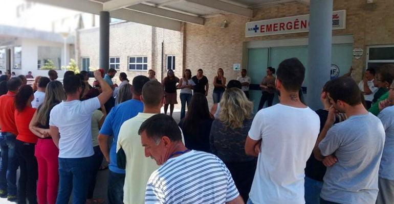 Trabalhadores/as do Hospital Florianópolis paralisam atividades