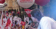 Trabalhadores vão às ruas em defesa da democracia, pelo direito de Lula ser candidato e contra a agenda do grande capital