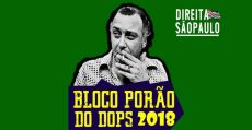 Ativistas repudiam a liberação do bloco carnavalesco Porão do Dops