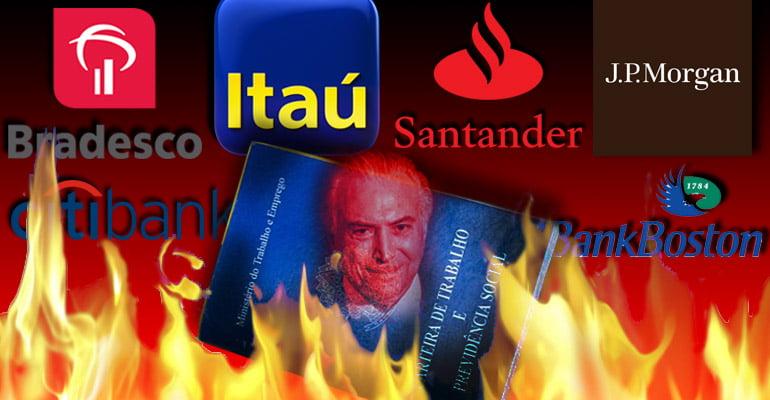 Temer quer o fim da aposentadoria pra entregar previdência pros bancos!