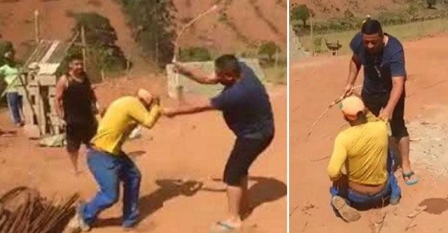 Fazendeiros presos por torturar trabalhador que furtou ovos