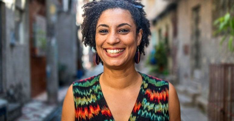 Nota pelo assassinato de Marielle Franco | INTERSINDICAL