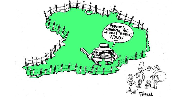 Tristes recordes da anti-reforma agrária | INTERSINDICAL