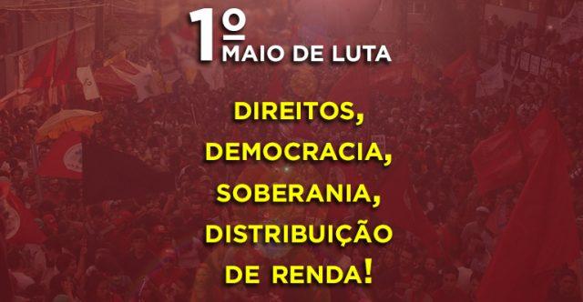 Centrais definem eixos para o 1º de Maio unificado em Curitiba