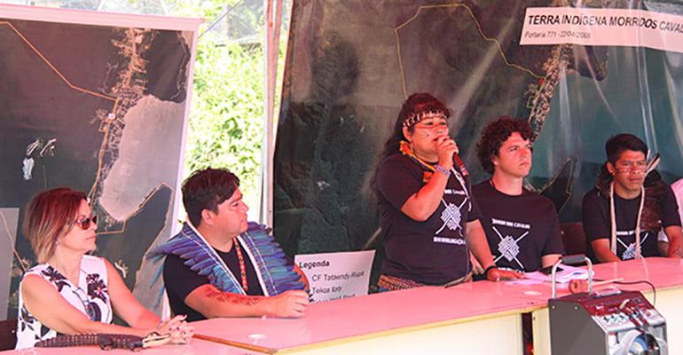 Abril Indígena: pela homologação da TI Morro dos Cavalos!
