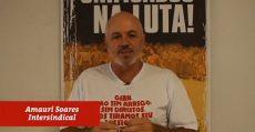 Centrais Sindicais unidas com os trabalhadores de Florianópolis
