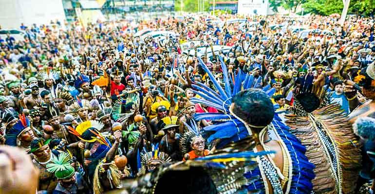 O que o governo Temer fez no Abril Indígena | INTERSINDICAL
