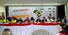 Centrais sindicais realizam lançamento da Agenda Prioritária da Classe Trabalhadora