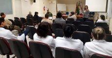 Reunião no Hospital de Caridade