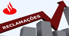 Santander lidera reclamações entre os bancos