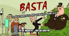 10 DE AGOSTO: Basta de congelamento do serviço público! | INTERSINDICAL