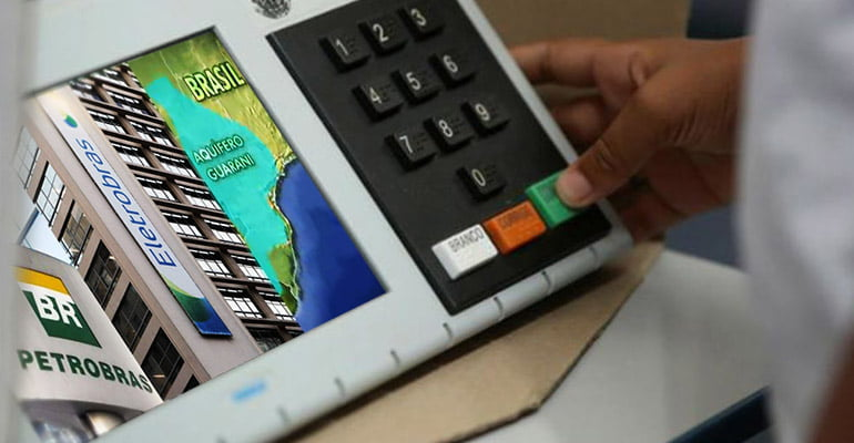 Vote (e lute) CONTRA AS PRIVATIZAÇÕES