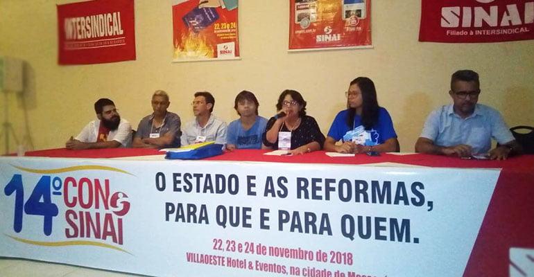 14º CONSINAI debate os desafios dos trabalhadores no próximo governo