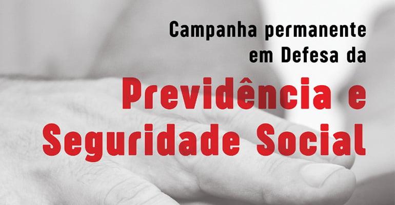 12897e1b7 Plenária de lançamento da Campanha Permanente em Defesa da Previdência e  Seguridade Social