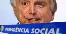 Bolsonaro prepara aposentadoria só depois de 65 anos e entrega da previdência aos bancos