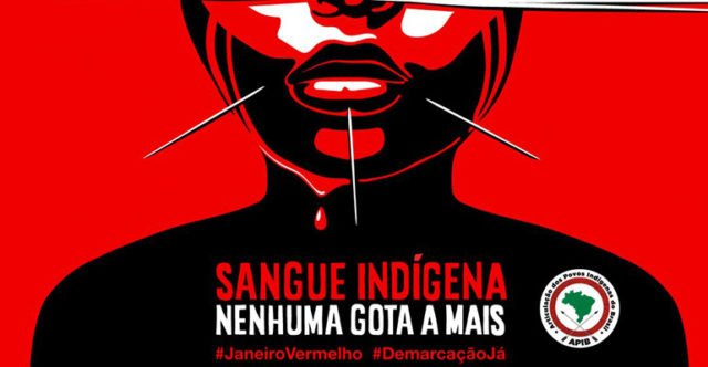 Sangue indígena, nenhuma gota a mais!