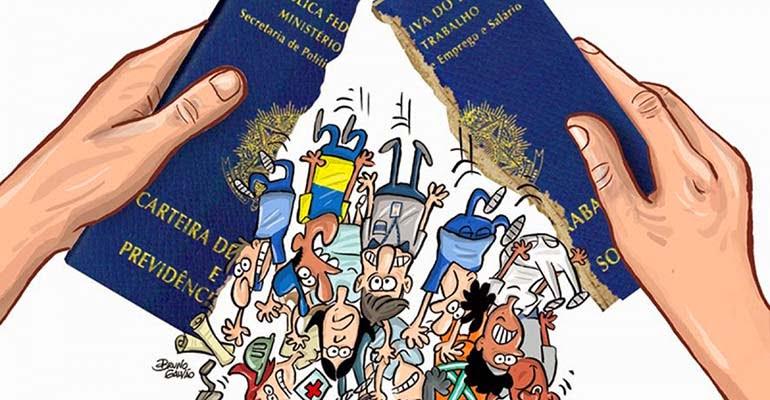 povo brasileiro não quer privatizações nem fim da CLT