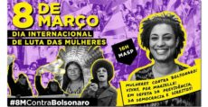 8 de março, ato unificado em SP: Mulheres Contra Bolsonaro!
