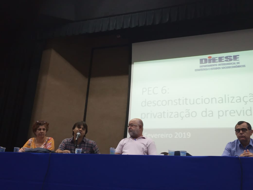 Jornada Nacional de Debates sobre a Reforma da Previdência Social PEC 06 1