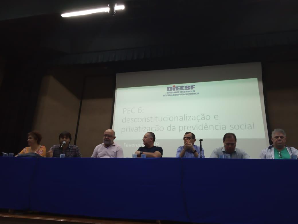 Jornada Nacional de Debates sobre a Reforma da Previdência Social PEC 06 2