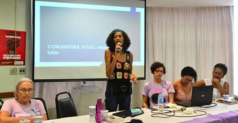 Zilmar Alverita questiona a representação feminina nos sindicatos e centrais