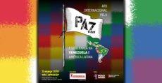 ato internacional pela paz na Venezuela
