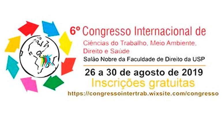 Congresso Internacional de Ciências do Trabalho, Meio Ambiente, Direito e Saúde